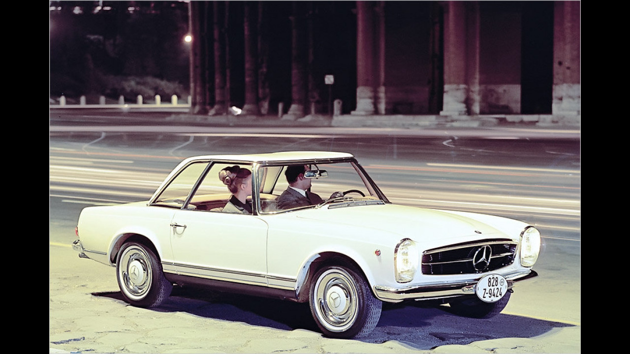 Platz 7: Mercedes Baureihe W 113 ,Pagode