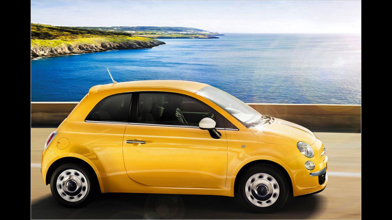 Minis, Platz 2: Fiat 500 (16.424 Stück)