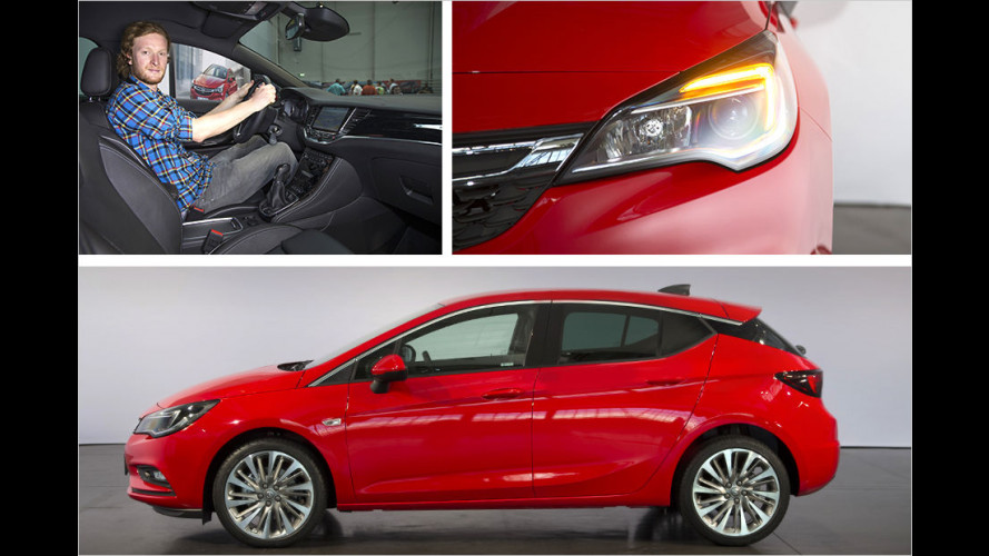 Der Astra wird leichter und kompakter! Aber auch besser? Sitzprobe!