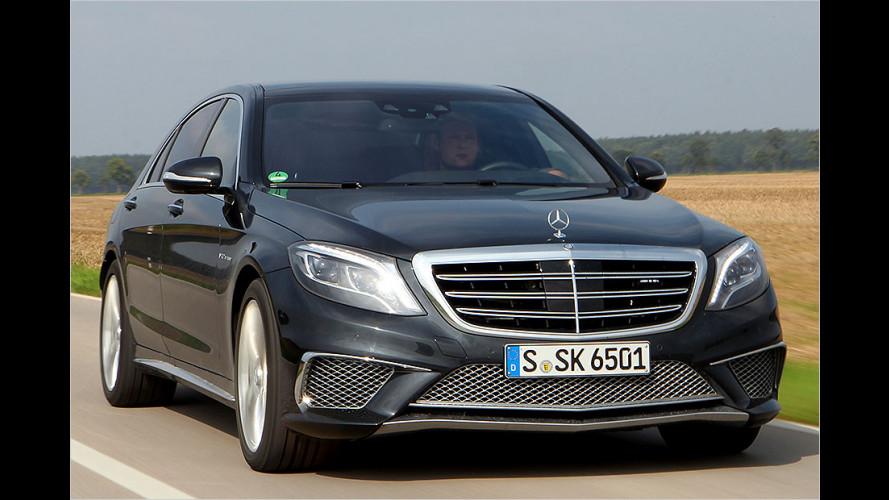 Mercedes S 65 AMG im Test: Mehr cedes