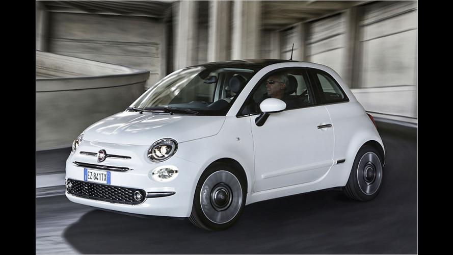 Fiat 500 und 500C erhalten ein Facelift (2015)
