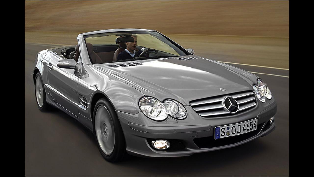 Platz 7: Mercedes SL
