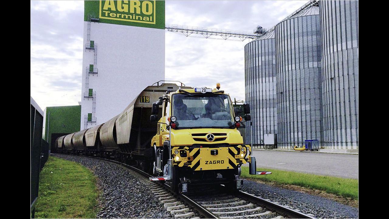 Zug-Maschine