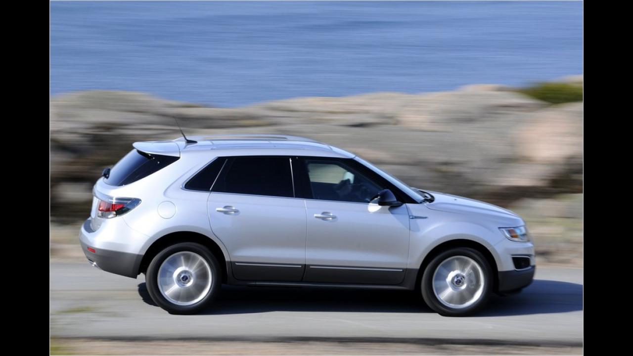 Auch das Kompakt-SUV 9-4X wird es wohl nicht mehr auf die Straße schaffen