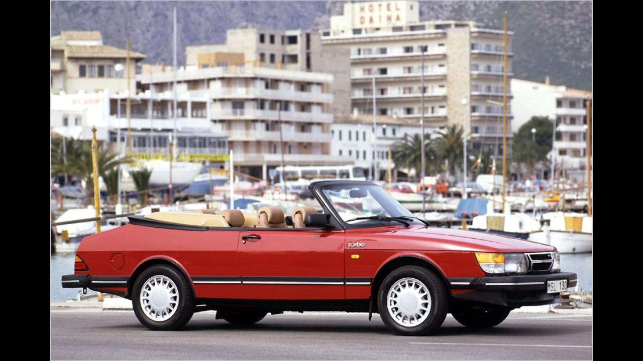 Das erste Saab 900 Cabrio aus den 1980er-Jahren ist bis heute bei Fans begehrt