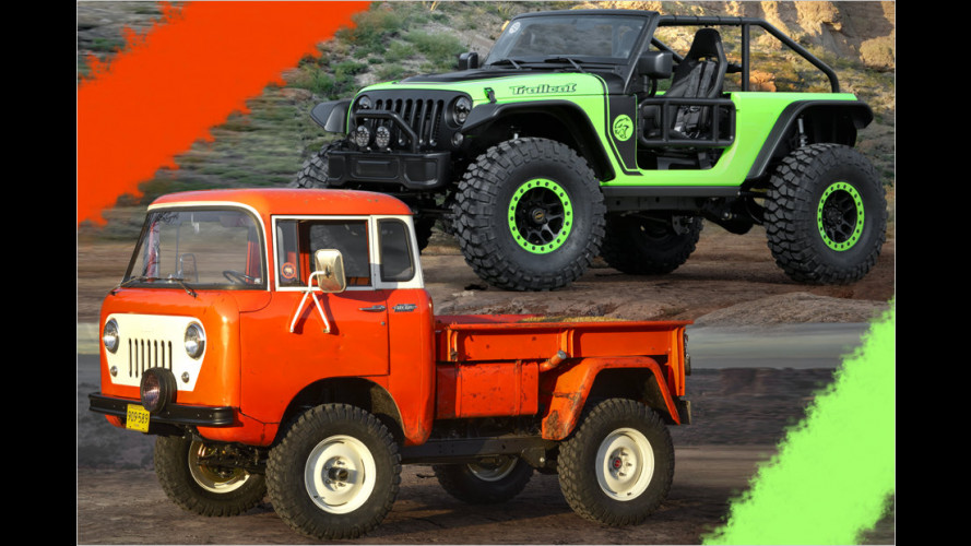 75 Jahre Jeep, 50 Jahre Easter Safari: Die sieben Konzepte