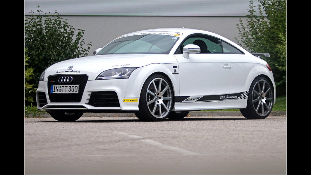 MTM Audi TT RS: 312 km/h