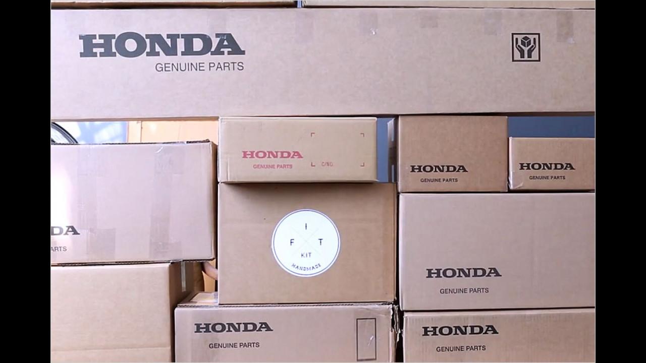 Honda Jazz zum Selberzusammenbauen