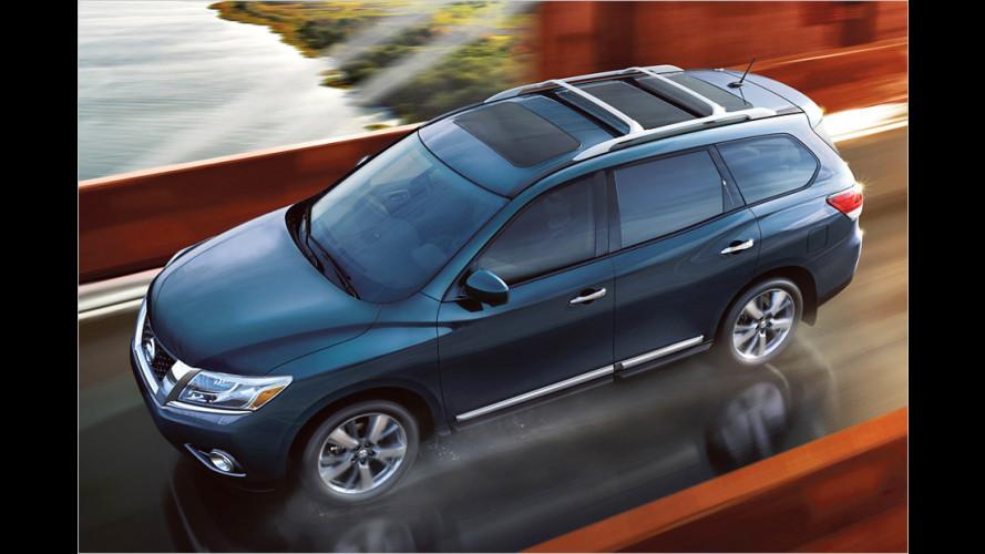 Nissan Pathfinder: Neuauflage ohne Leiterrahmen
