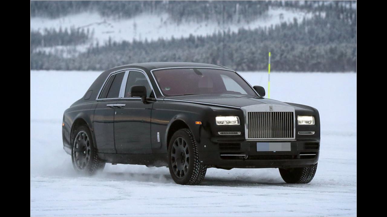 Rolls-Royce Cullinan Versuchsträger