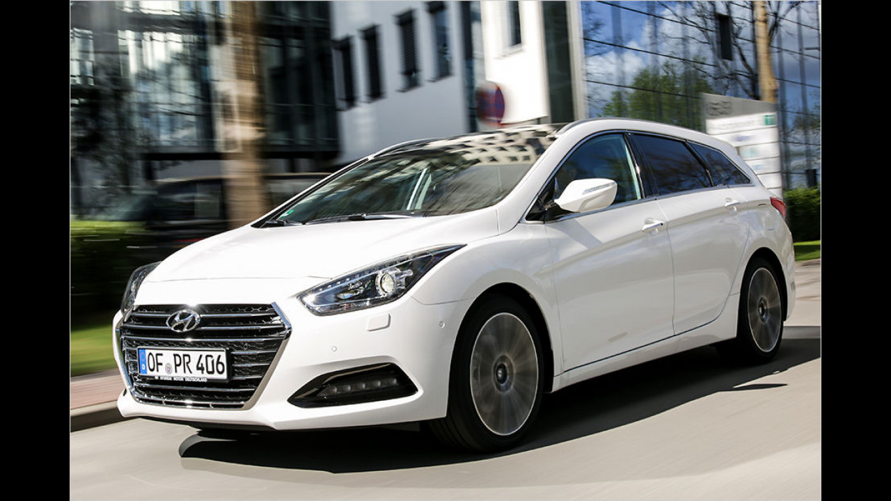 Hyundai i40: 2.855 Neuzulassungen (Januar bis Juli 2016)