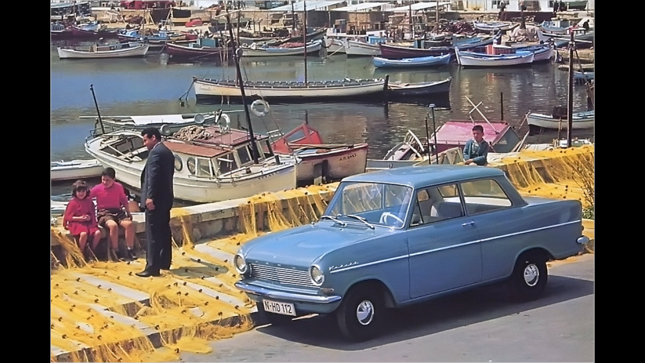 50 Jahre Opel Kadett A