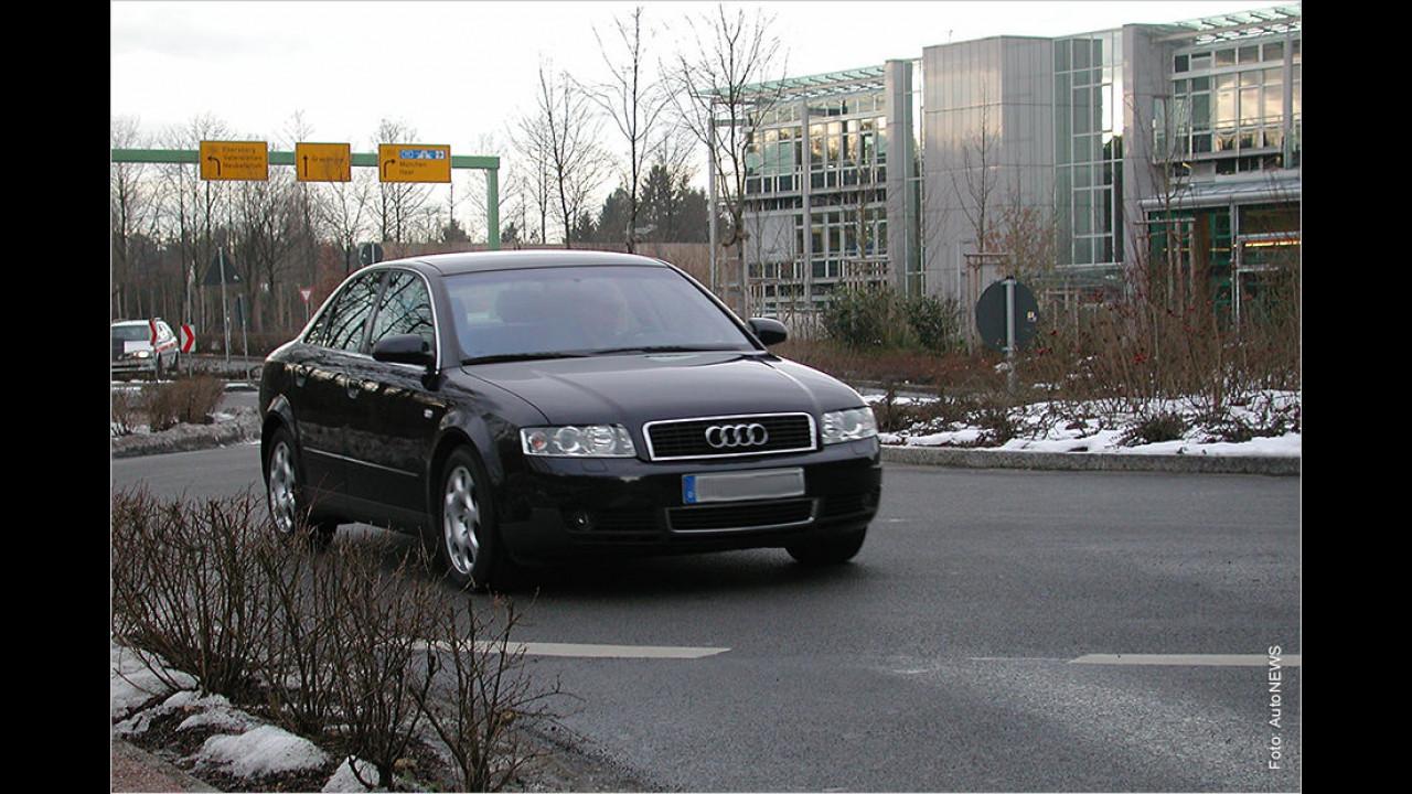 Im Kreisverkehr nicht blinken