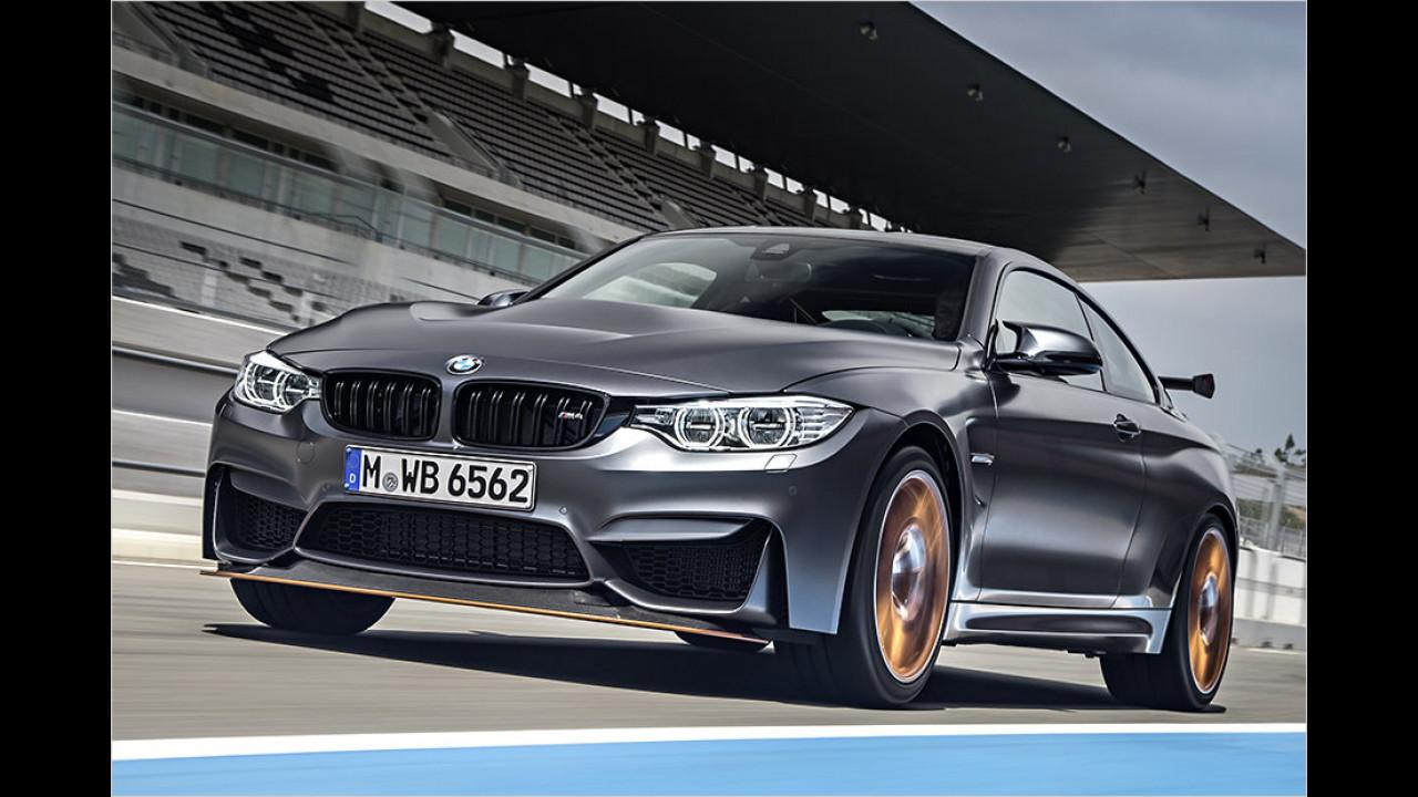 BMW M4 GTS: 7:28 Minuten (schnellster BMW)
