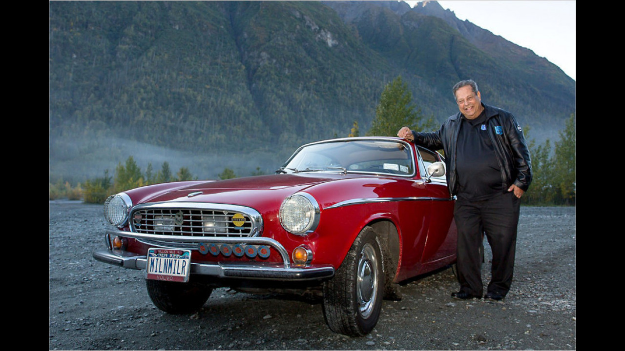 Top: Irv Gordons Millionen-Volvo