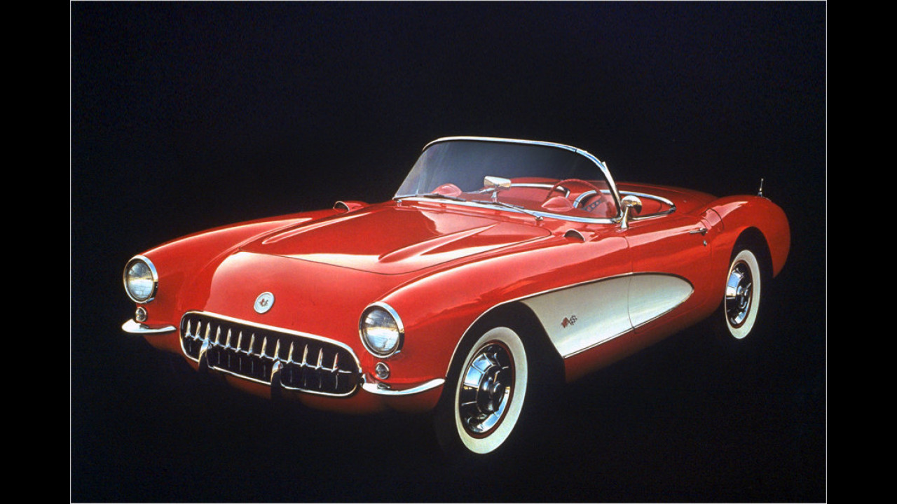 Corvette C1 Facelit (1956)