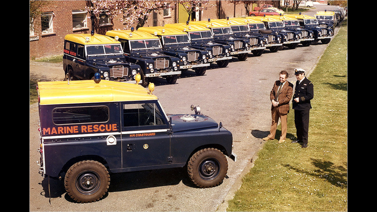 Land Rover Series III (1971 bis 1984)