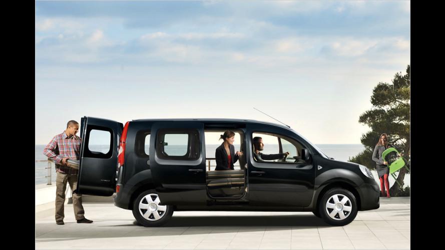 Renault Grand Kangoo: Langversion mit sieben Plätzen startet 2012