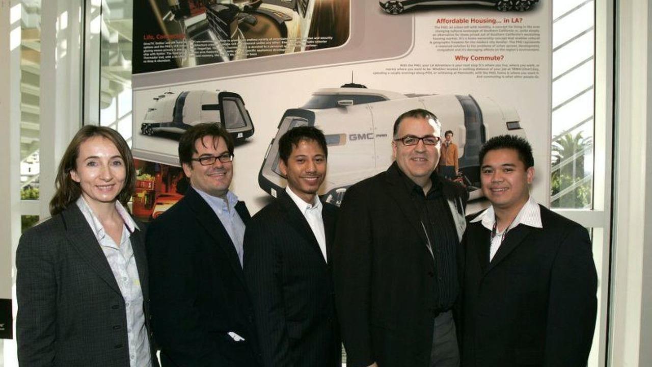 GMC PAD Concept Design Team
