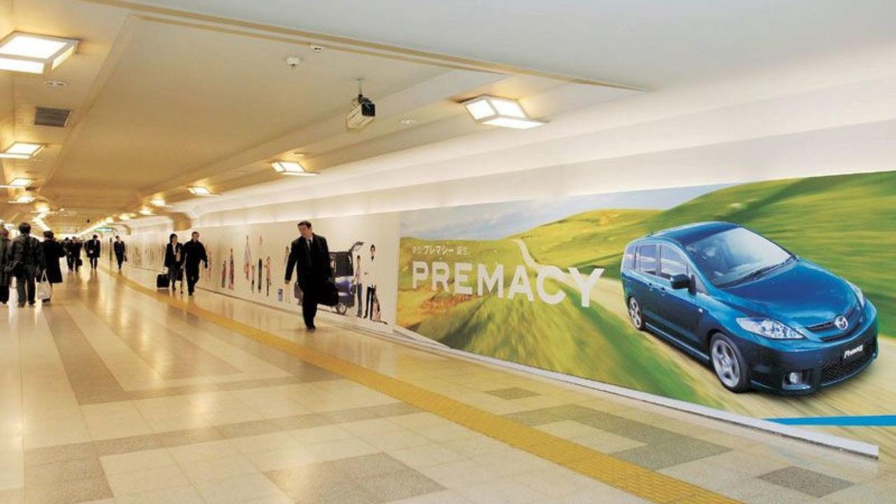 Mazda Longest ad in Tokyo