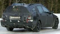 New Mercedes C-Class Estate Spy Pics