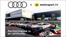 Audi startet eigenen Kanal auf Motorsport.tv