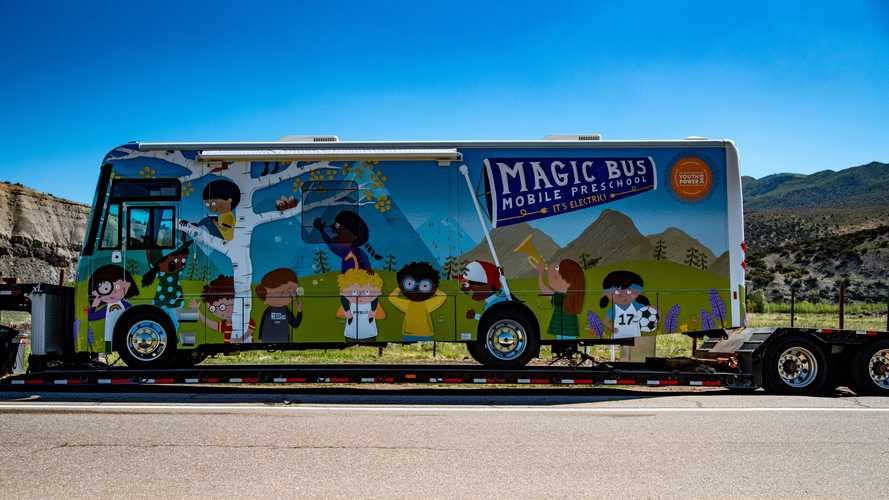 Winnebago Deploys Slick All-Electric Mobile Preschool