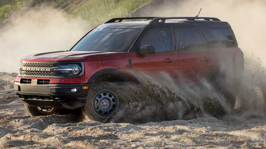 Ford Bronco Sport Badlands Has Alloy Wheels That Look Like Steelies