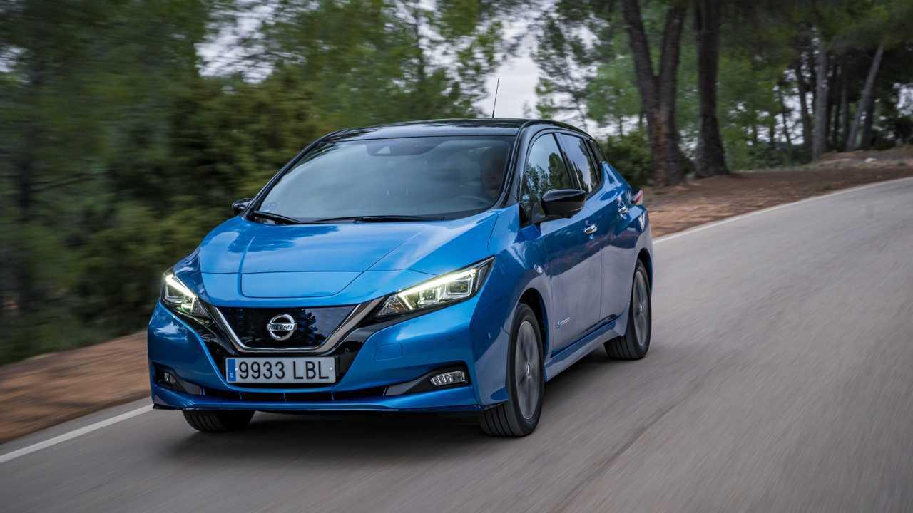 Nissan LEAF e+ in Europe