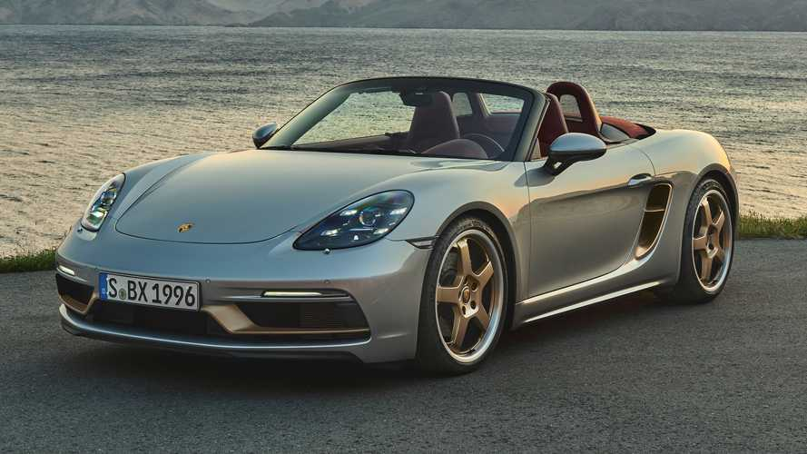 2021 Porsche Boxster 25 pays homage to original 1996 roadster