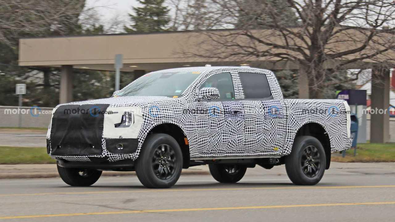 Ford Ranger 2023  - Primeiro flagra
