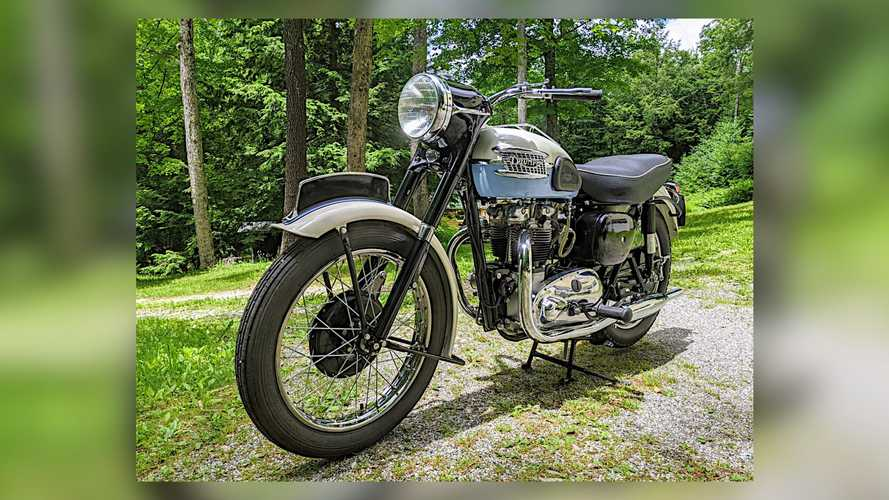 This 1957 Triumph Tiger T110 Needs Some Exercise (And A New Home)