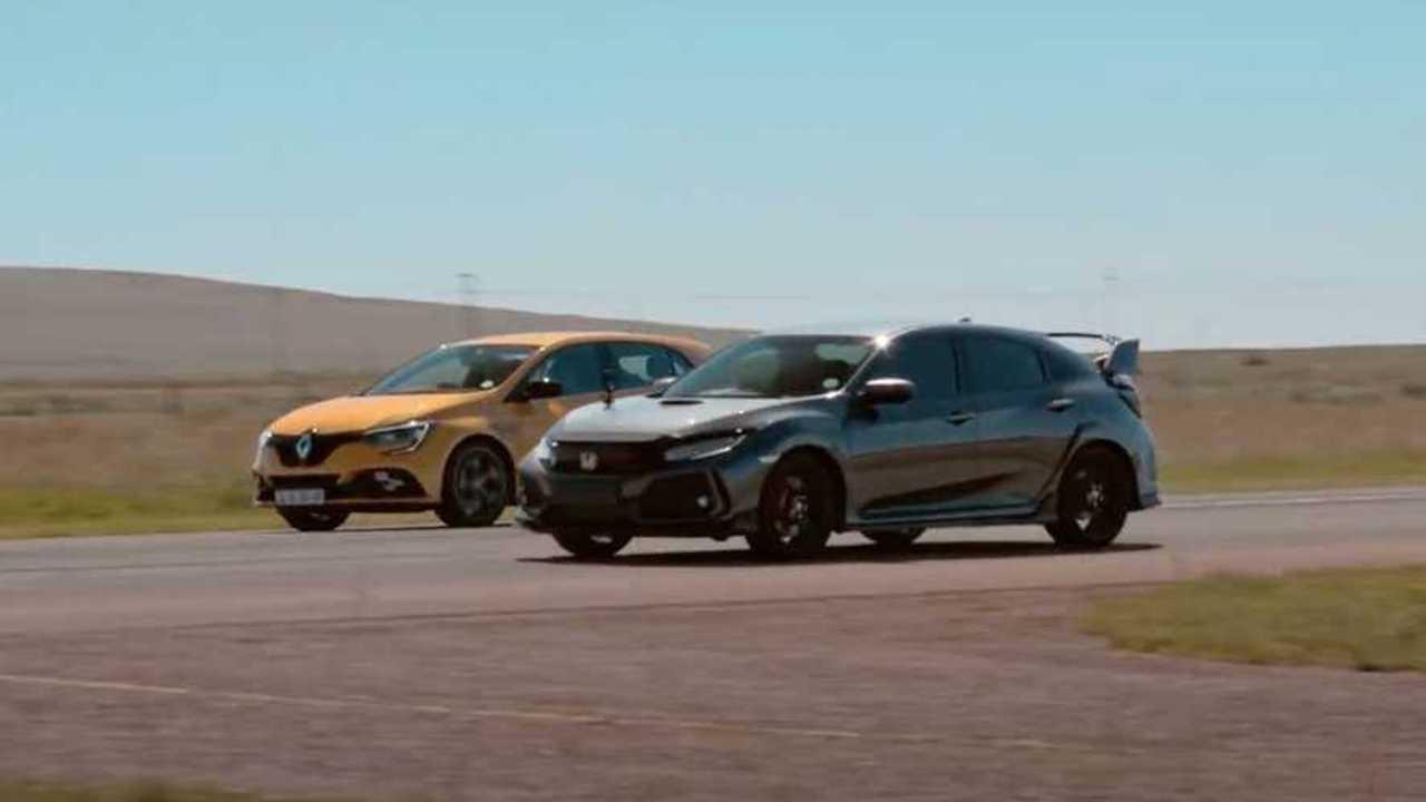 Honda Civic Type R vs Renault Megane RS 300 Trophy