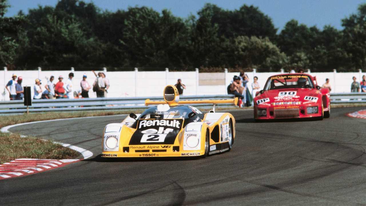 1970'ler - Le Mans, açık tekerlek serileri