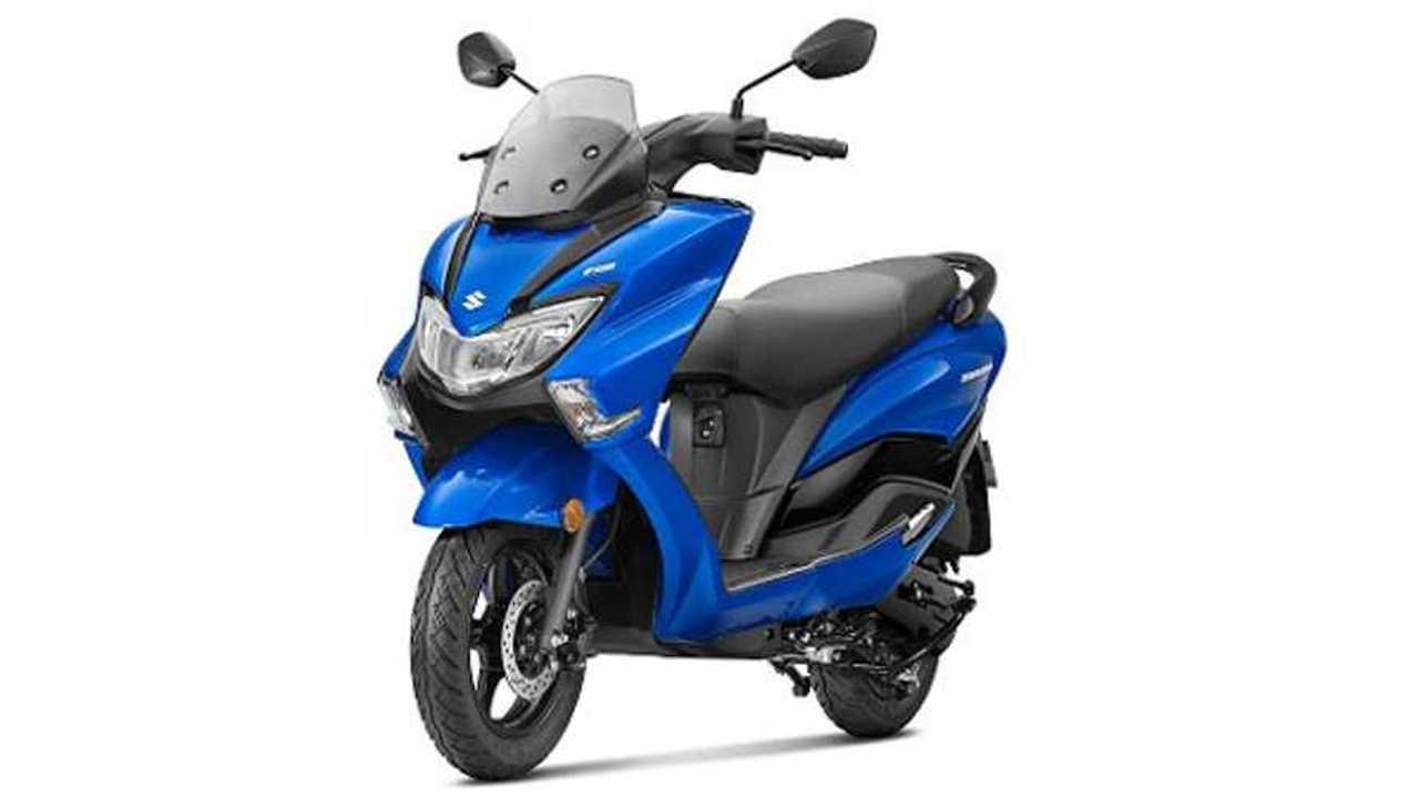 Suzuki Burgman Blue Edition
