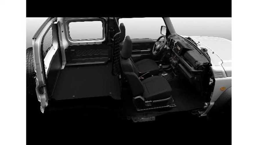 Suzuki Jimny (2021) als Nutzfahrzeug
