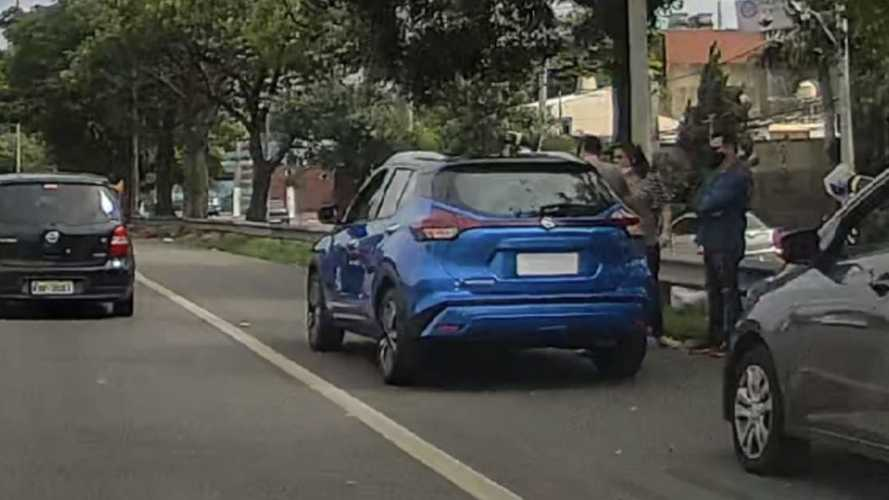 Flagra: Novo Nissan Kicks nacional terá traseira do modelo norte-americano