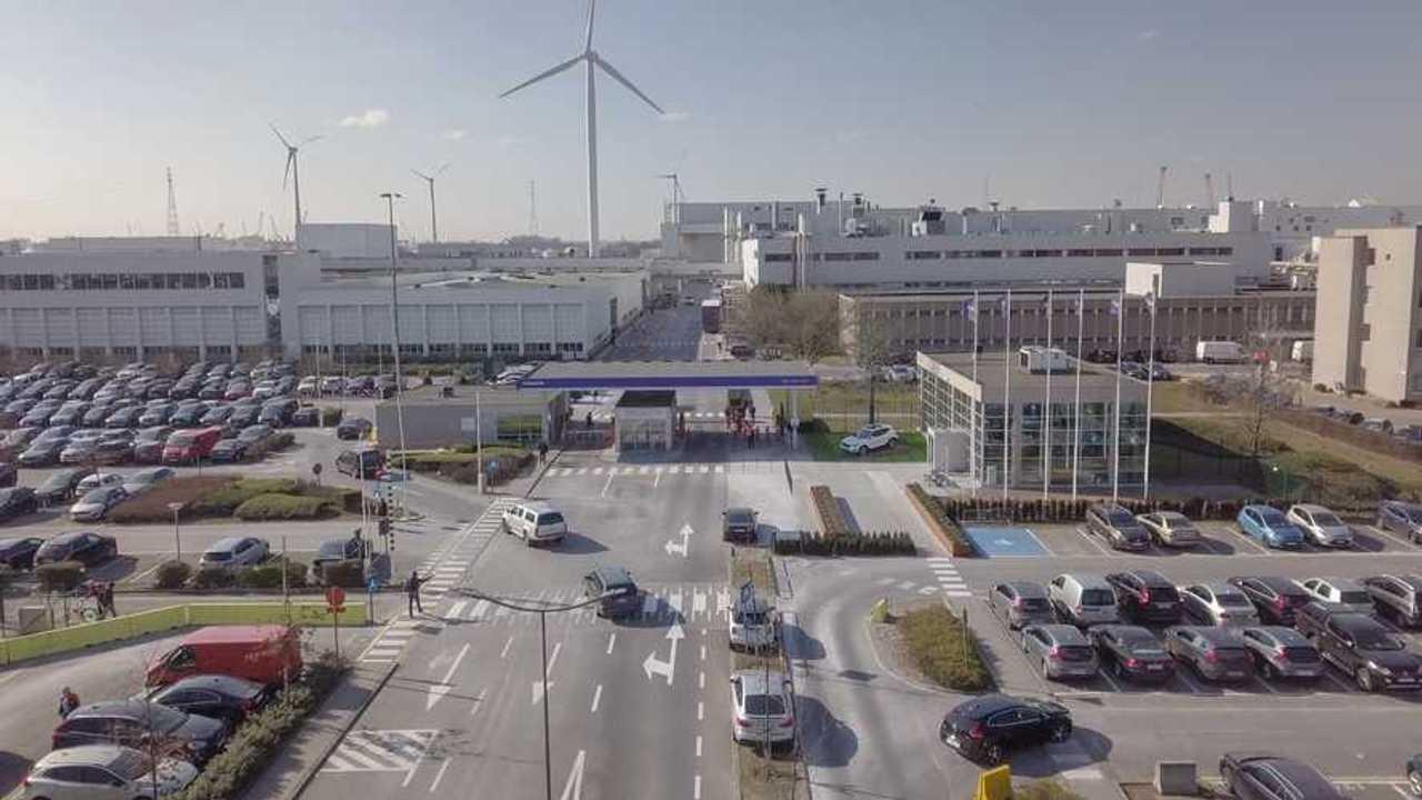 Volvo Cars' manufacturing plant in Ghent, Belgium