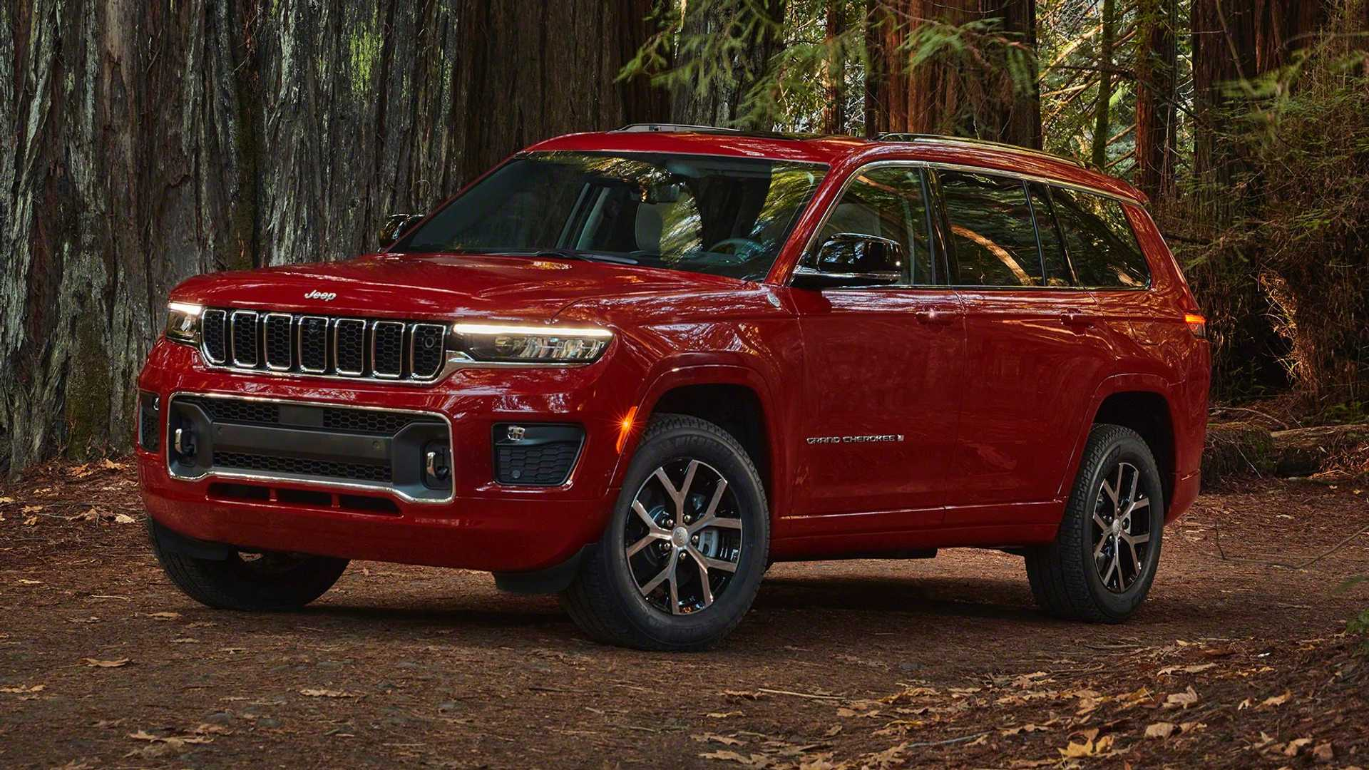 Jeep Grand Cherokee L 2021 года: цена от 36 995 долларов, верхняя отделка — 65 290 долларов