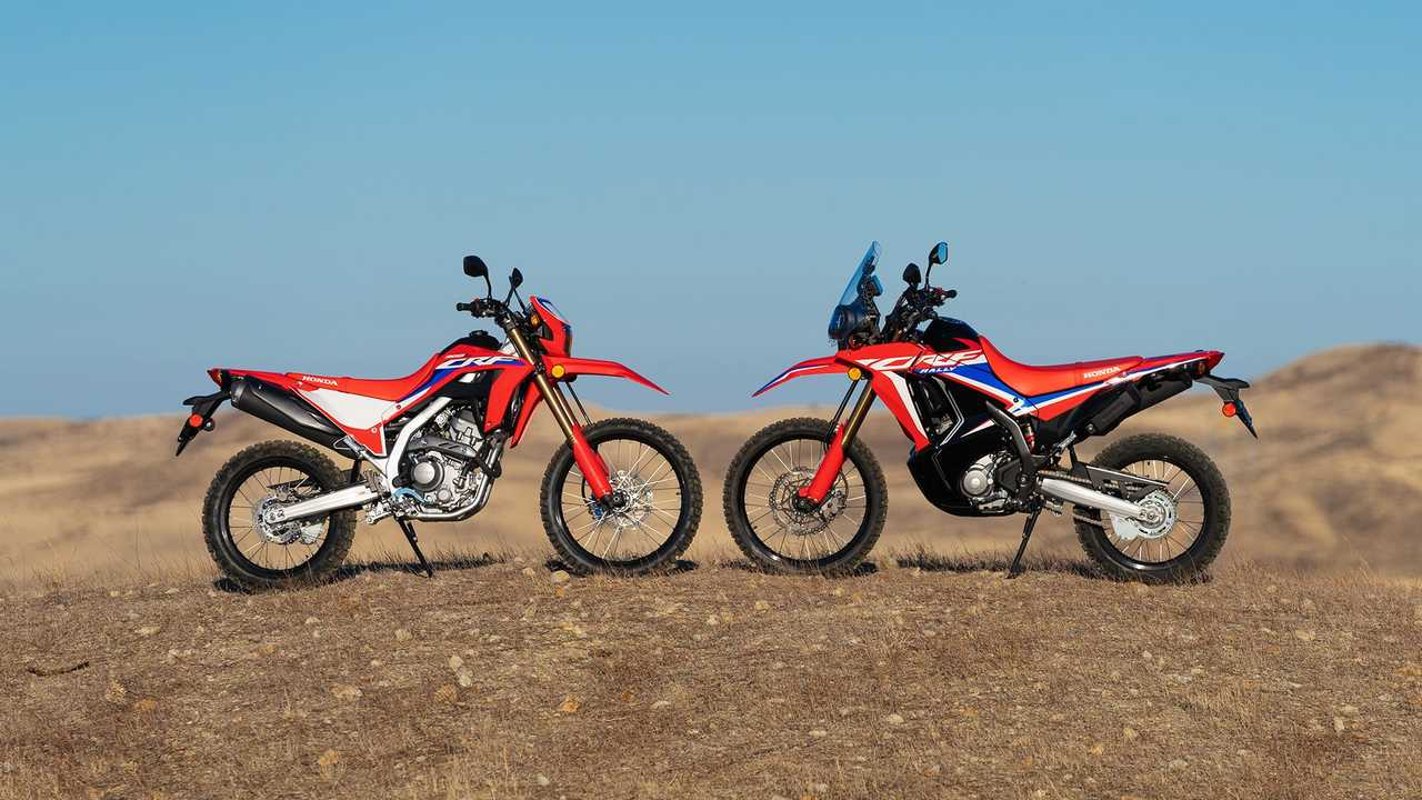 2021 Honda CRF300L and CRF300L, Hero, Duo