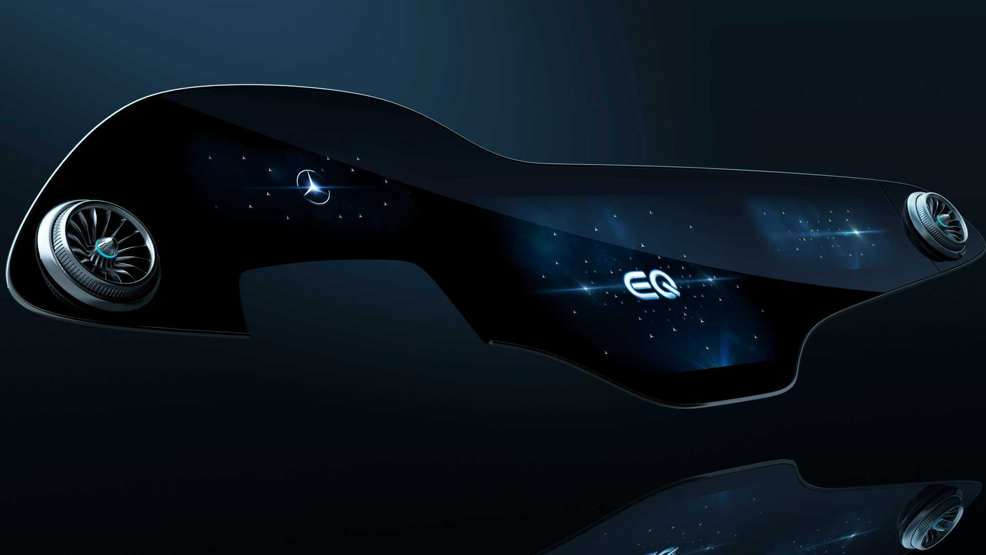 Mercedes-Benz представляет флагманский электромобиль MBUX Hyperscreen от EQS