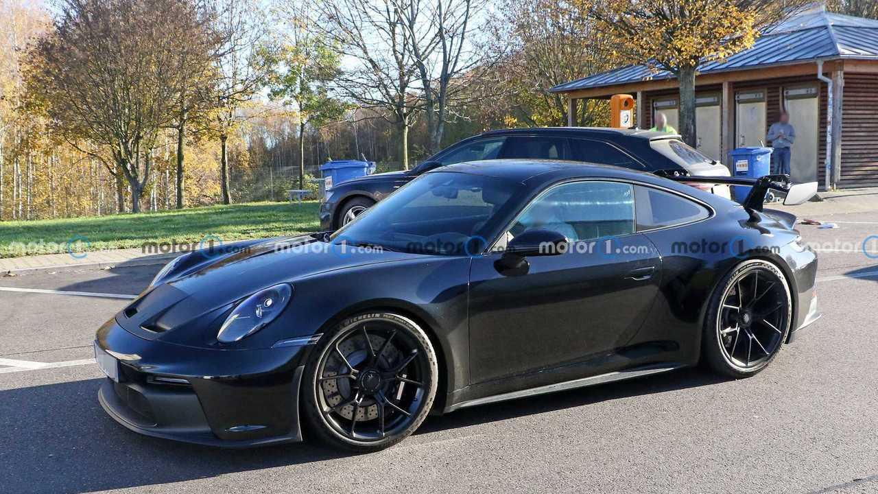 Porsche 911 GT3 Yeni Casus Fotoğraflar