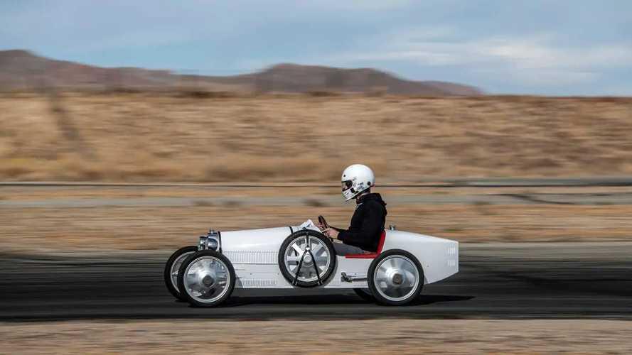 Bugatti Baby II (2021) - Prova su strada