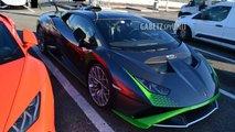 2021 Lamborghini Huracan STO spied near Modena