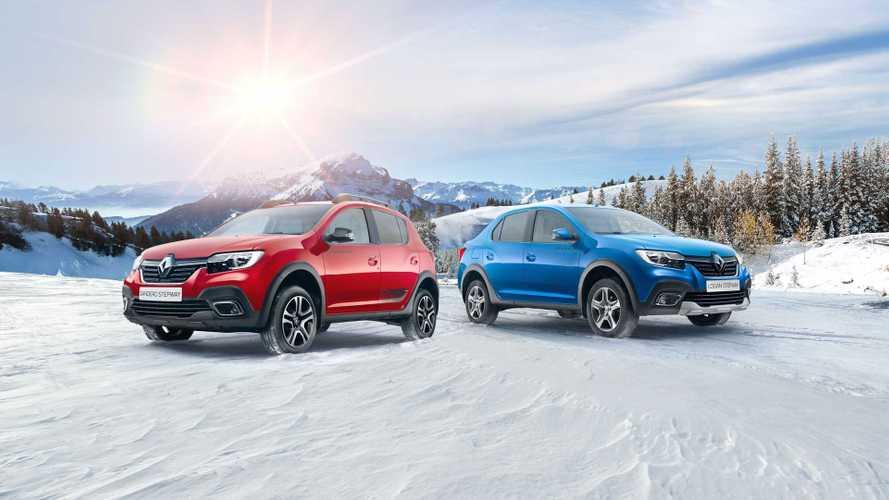 Renault предложила россиянам Logan и Sandero с отделкой «под карбон»