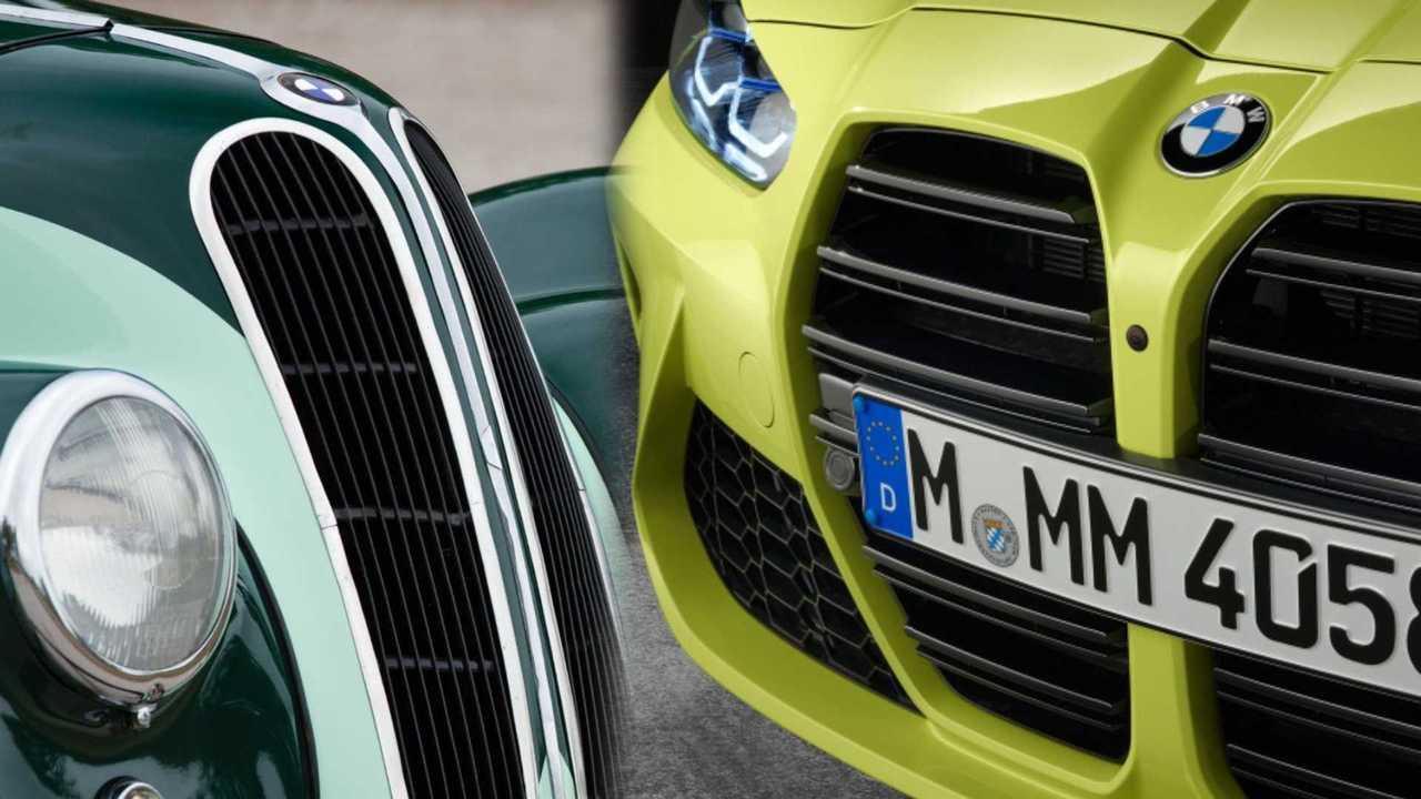 Retrospettiva BMW l'origine antica della calandra allungata