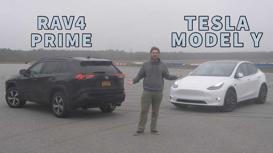 Tesla Model Y Vs Toyota RAV4 Prime Detailed Comparison