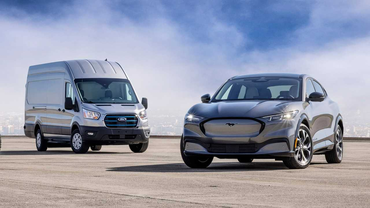 2022 Ford E-Transit With Mach-E