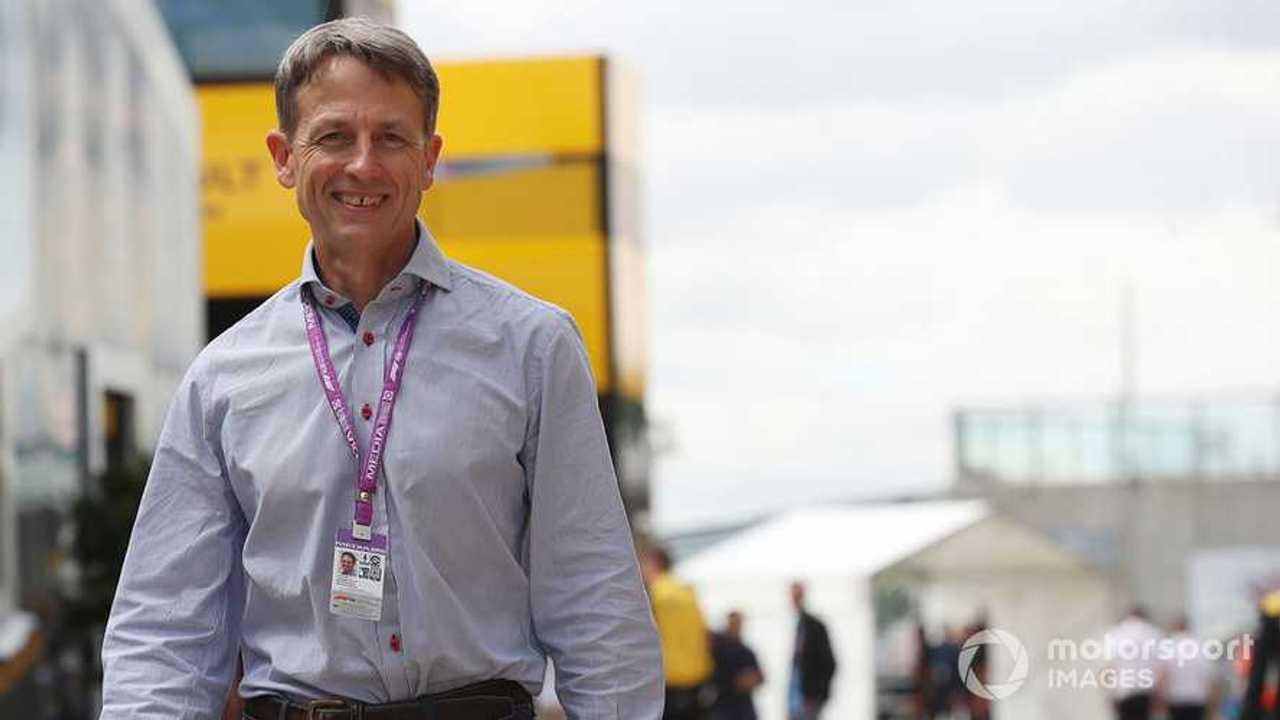 Ben Edwards in the paddock at British GP 2019