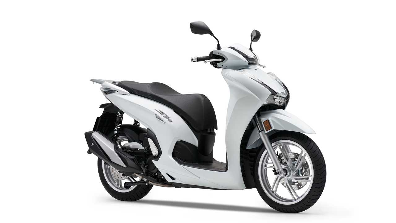 2021 Honda SH350i White Right Side